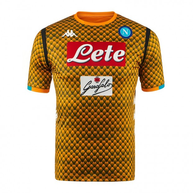 SSC Napoli Replica GK Orange Shirt 2018/2019
