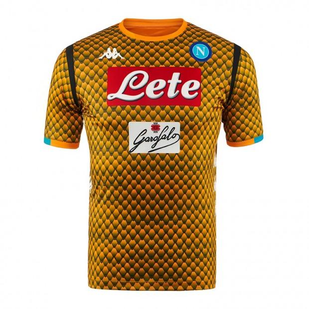 SSC Napoli Replica GK Orange Shirt 2018/2019