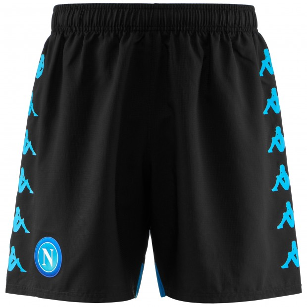 SSC Napoli Black Shorts 2018/2019