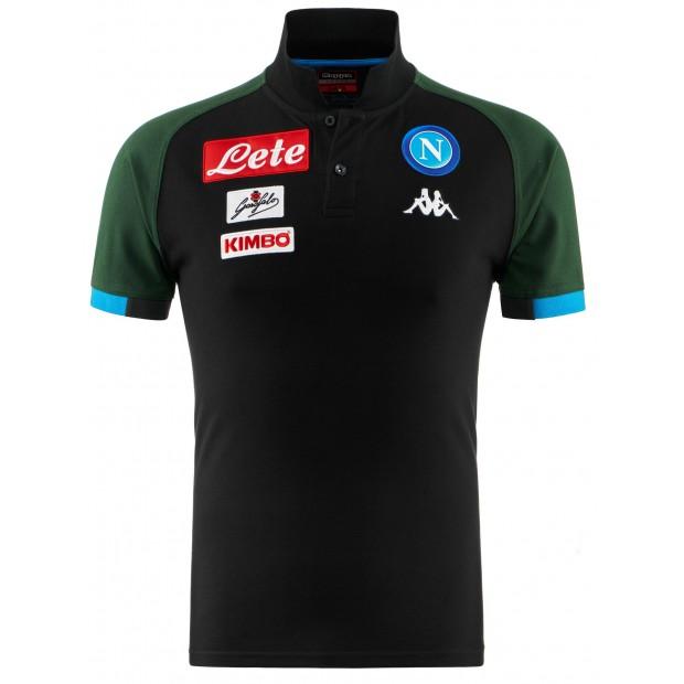 SSC Napoli Dark Blue Representation Polo Shirt 2018/2019 for Kids