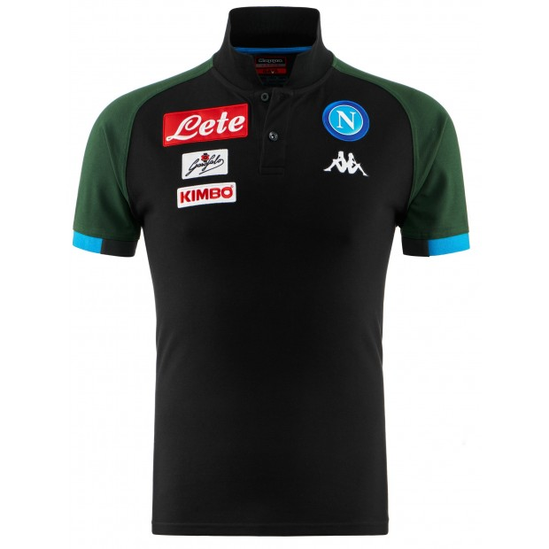 SSC Napoli Dark Blue Representation Polo Shirt 2018/2019