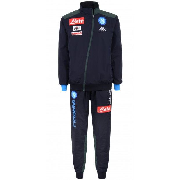 SSC Napoli Micro Dark Blue Representation Tracksuit 2018/2019 Youth