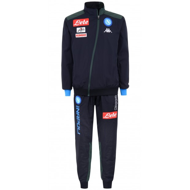 SSC Napoli Micro Dark Blue Representation Tracksuit 2018/2019 Kid