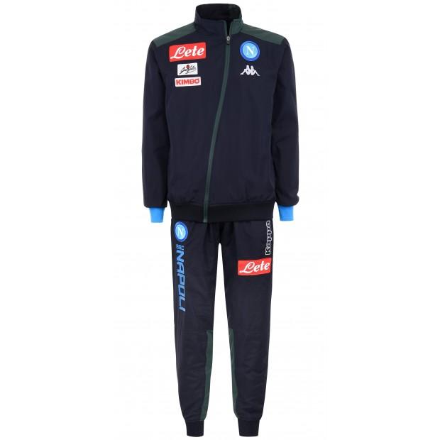 SSC Napoli Micro Dark Blue Representation Tracksuit 2018/2019 Kid