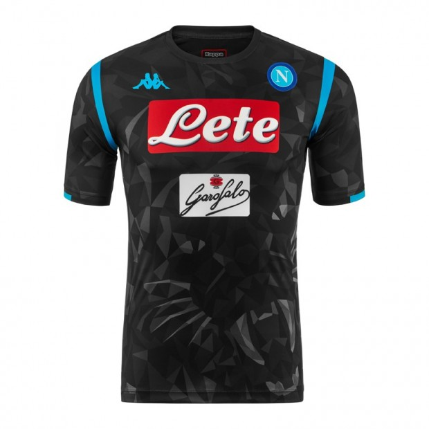 SSC Napoli Replica Black Shirt 2018/2019