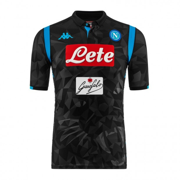 SSC Napoli Away Match Shirt 2018 2019 9b8c7273f0136