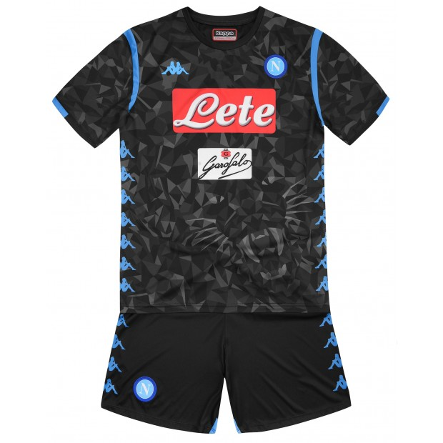 SSC Napoli Away Kit for Kids 2018/2019