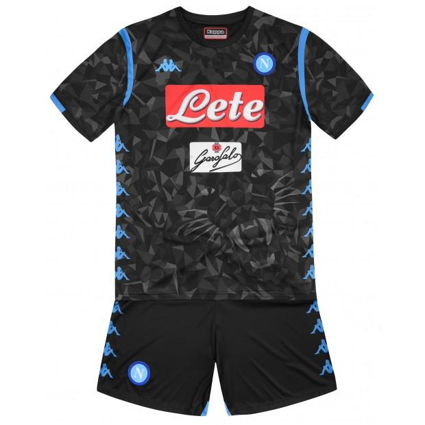 SSC Napoli Away Kit for Kids 2018/2019