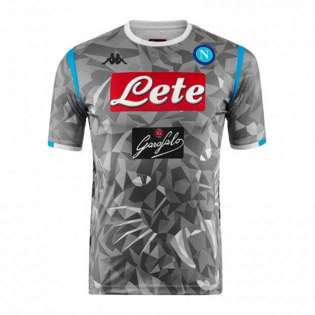 SSC Napoli Replica Grey Shirt 2018/2019