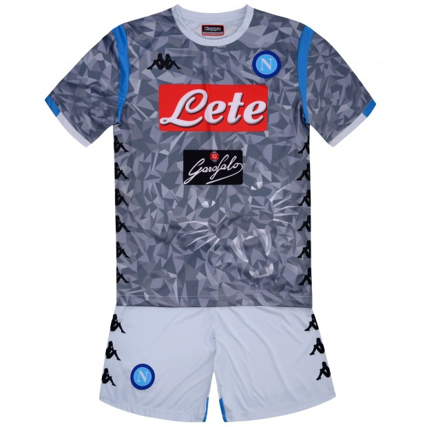 SSC Napoli Third Kit for Kids 2018/2019