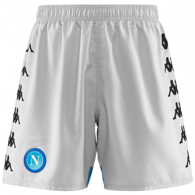 SSC Napoli Grey Shorts 2018/2019