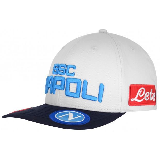 SSC Napoli Cappello con Visiera Piatta Ice