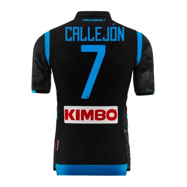 SSC Napoli Callejon Away Match Shirt 2018/2019