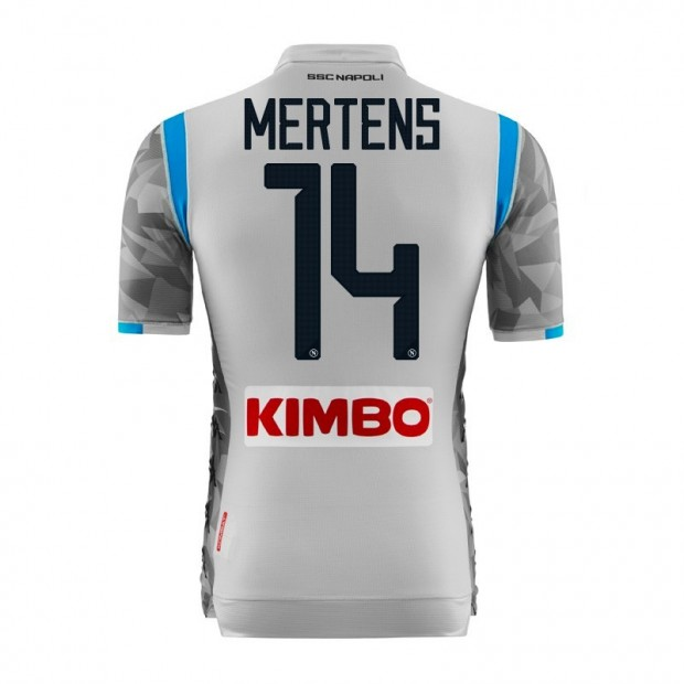 f6755bd44233 SSC Napoli Mertens Third Match Shirt 2018 2019