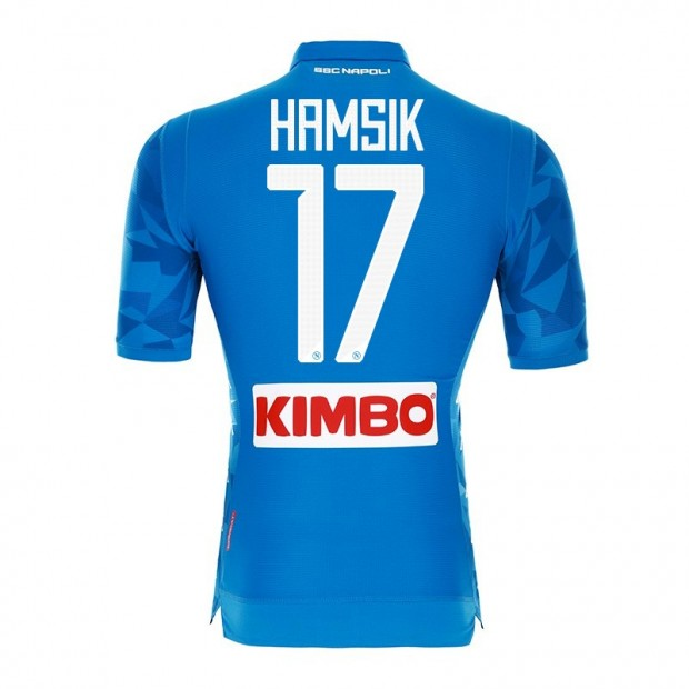 SSC Napoli Hamsik Home Match Shirt 2018/2019