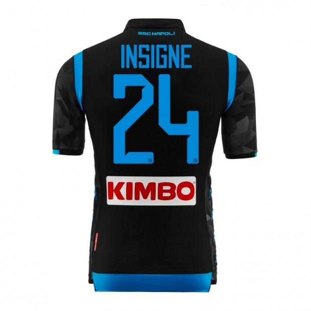 SSC Napoli Insigne Away Match Shirt 2018/2019