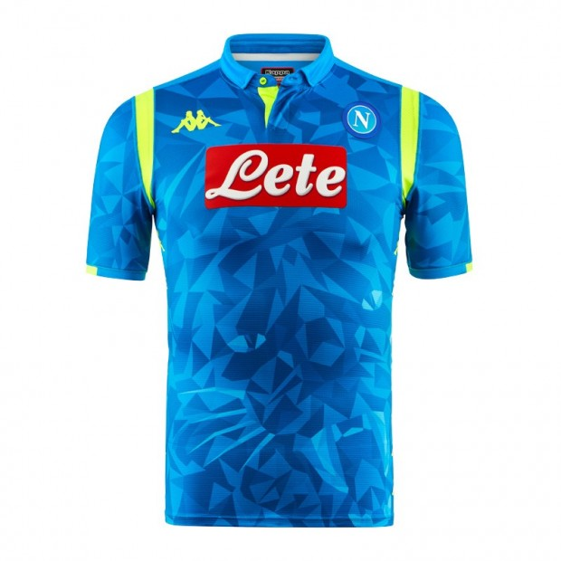 SSC Napoli Europa Home Match Shirt 2018/2019