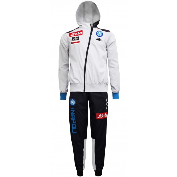 SSC Napoli Micro Ice Representation Tracksuit with Hood 2018/2019