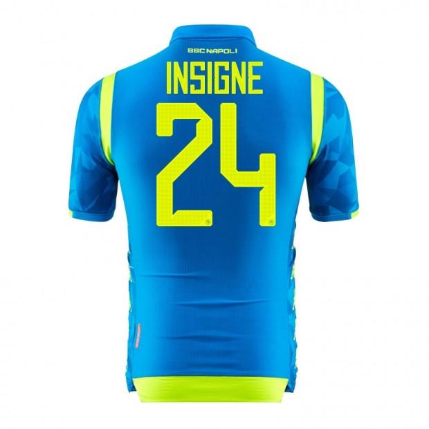 SSC Napoli Insigne UEFA Home Match Shirt 2018/2019