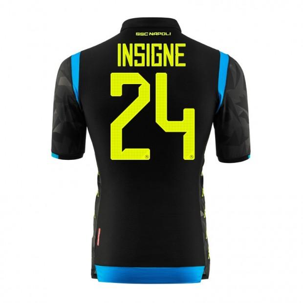 SSC Napoli Insigne UEFA Away Match Shirt 2018/2019