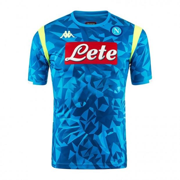 SSC Napoli Europa Replica Sky Blue Shirt 2018/2019