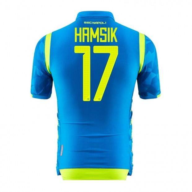 SSC Napoli Hamsik UEFA Home Match Shirt 2018/2019