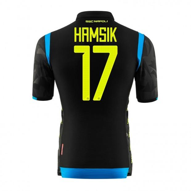 SSC Napoli Hamsik UEFA Away Match Shirt 2018/2019