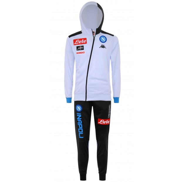 SSC Napoli Ice Representation Tracksuit with Hood 2018/2019 Youth