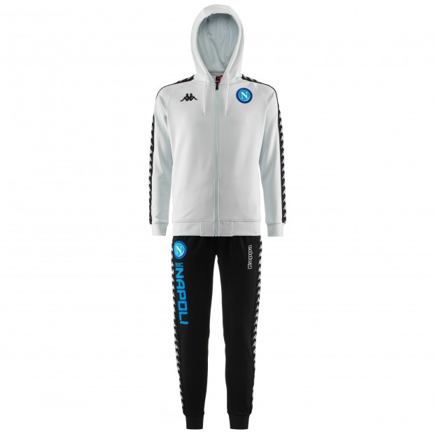 SSC Napoli Ice Europa Representation Tracksuit with Hood 2018/2019 Youth