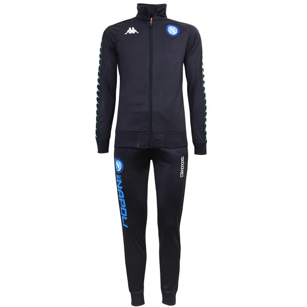 SSC Napoli Dark Blue Europa Representation Tracksuit 2018/2019 Youth