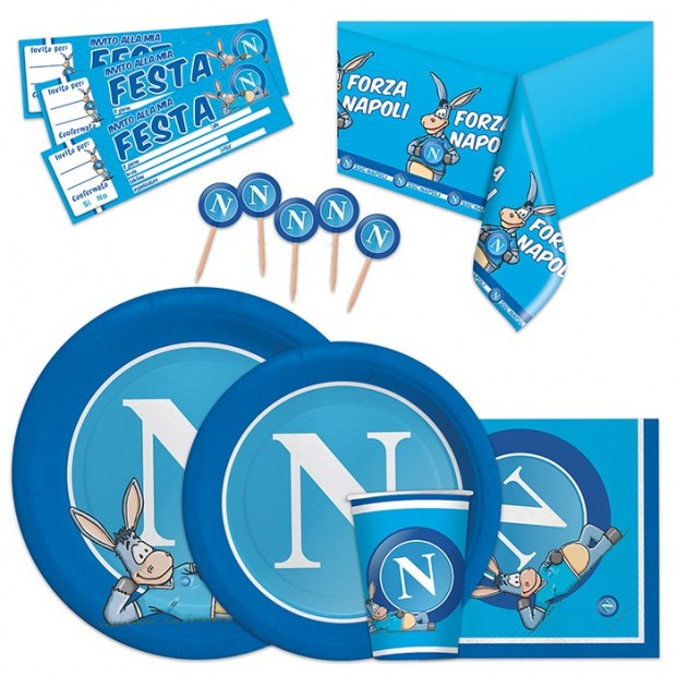 Kit per Festa SSC Napoli Big Party