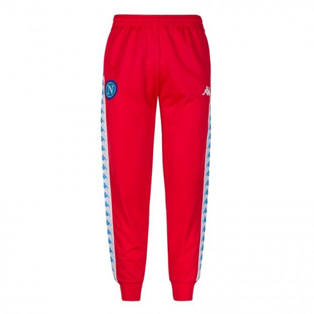 SSC Napoli Pantalone Retro Soccer Rosso