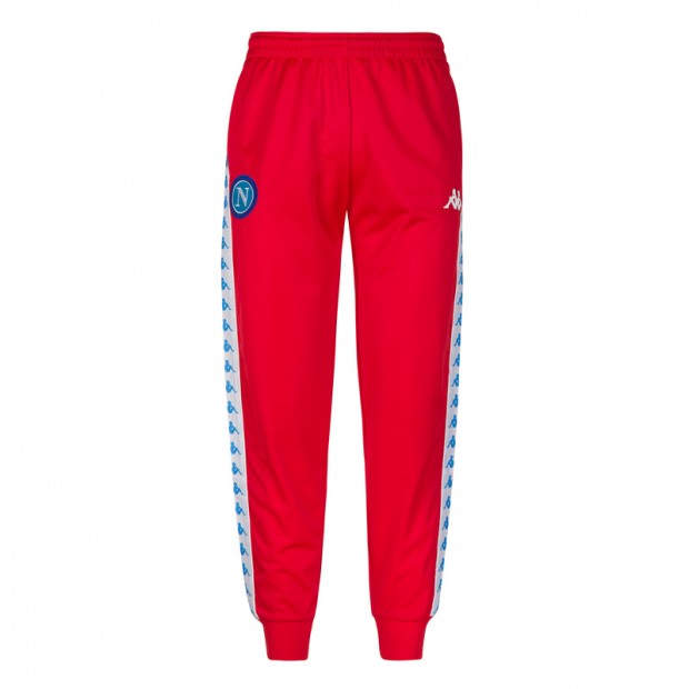 SSC Napoli Red Retro Soccer Pants