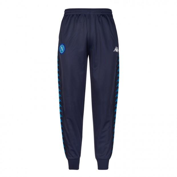 SSC Napoli Pantalone Retro Soccer Blu Scuro