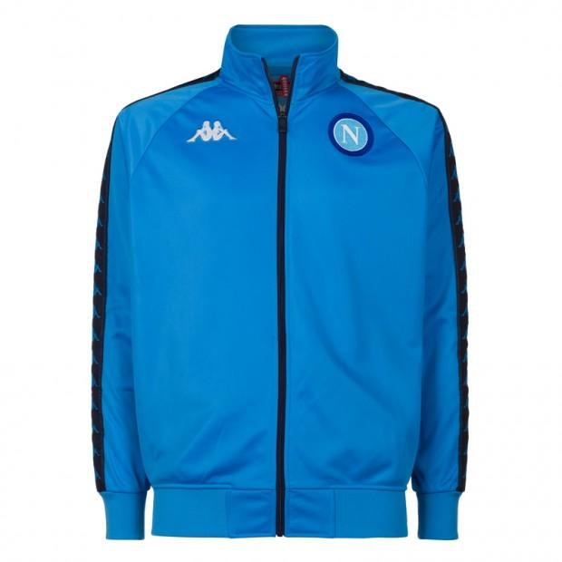 SSC Napoli Felpa Retro Soccer Azzurra