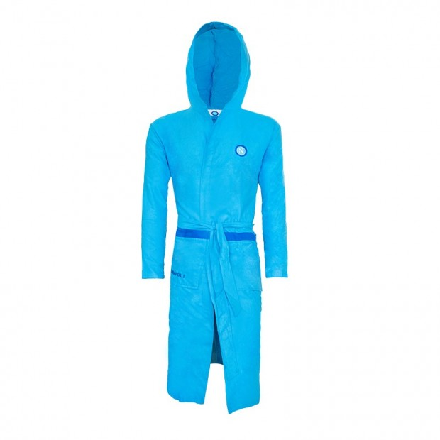 SSC Napoli Sky Blue Bathrobe