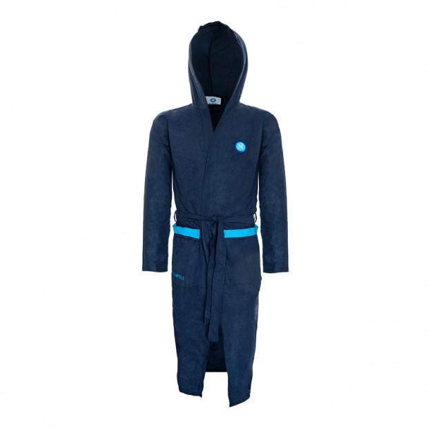 SSC Napoli Dark Blue Bathrobe
