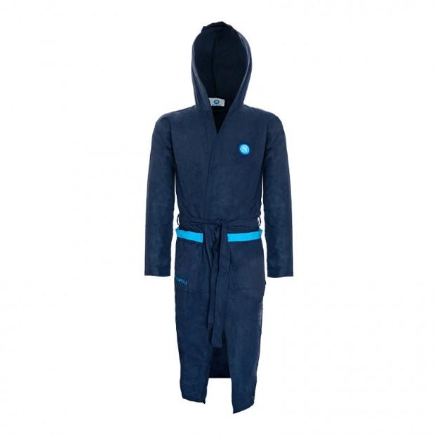 SSC Napoli Dark Blue Bathrobe
