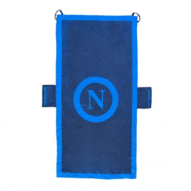 SSC Napoli Dark Blue Beach Towel
