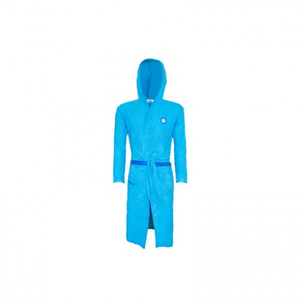 SSC Napoli Sky Blue Bathrobe for Kids
