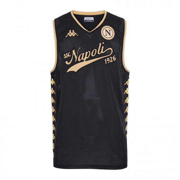 SSC Napoli Smanicato Black/Gold