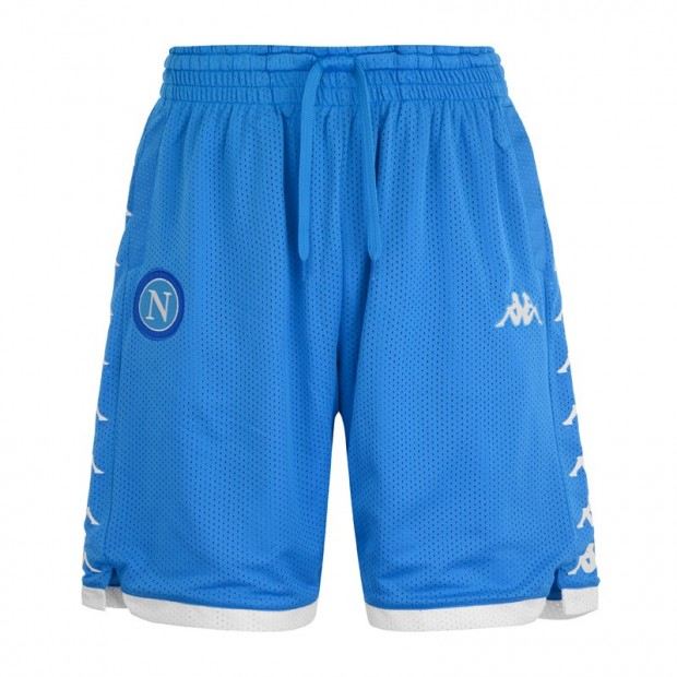 SSC Napoli Sky Blue Shorts