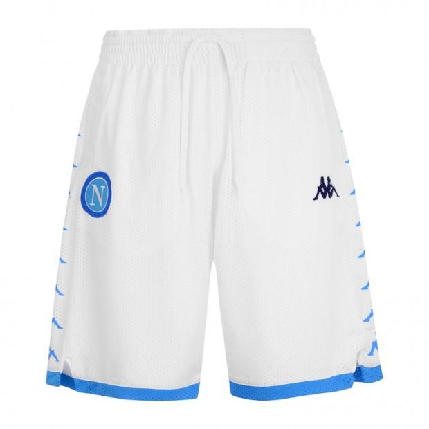 SSC Napoli Pantaloncini Bianchi