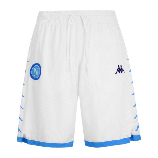 SSC Napoli White Shorts