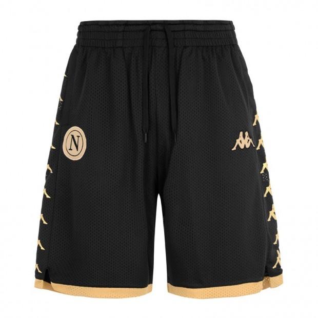 SSC Napoli Pantaloncini Gold/Black