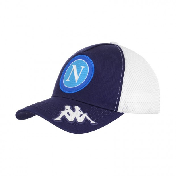 SSC Napoli Dark Blue/White Cap