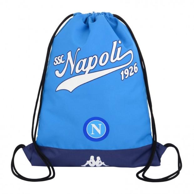 SSC Napoli Gym Sack Azzurro