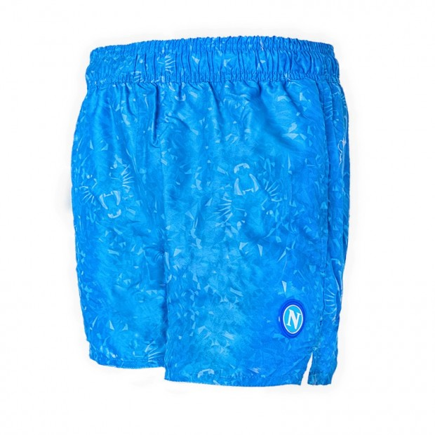 SSCN Sky Blue Swimming Trunks Panther