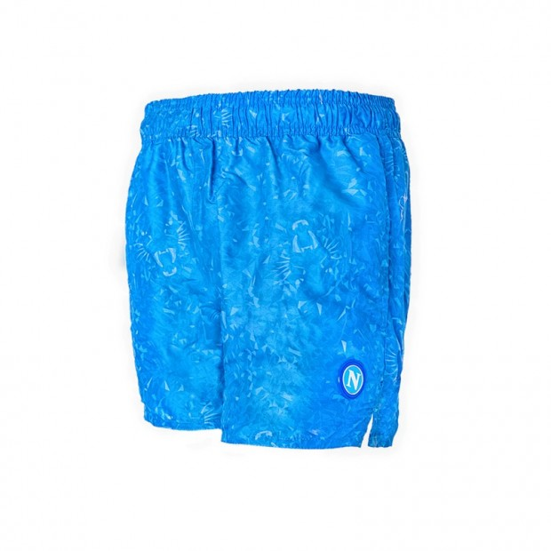 SSCN Sky Blue Swimming Trunks Panther for Kids