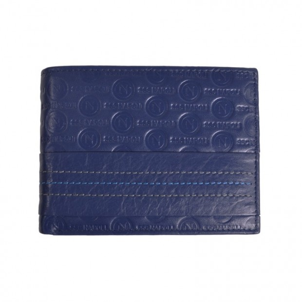 SSC Napoli Blue Logo Wallet